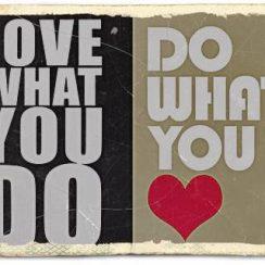 Cintai Apa Yang Kalian Kerjakan