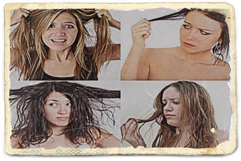 Rambut Lepek dan Berminyak