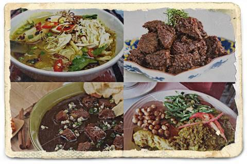 Contoh Masakan Nasional Indonesia