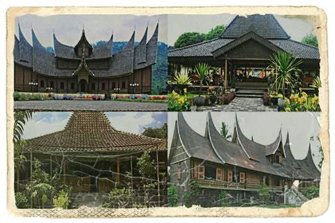 Contoh Rumah Adat Nasional Indonesia