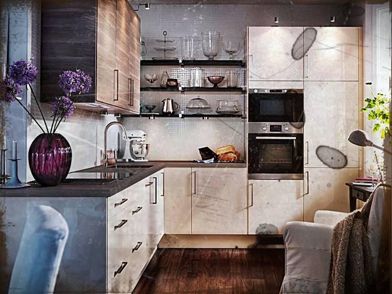 Desain Dapur Apartemen Kecil