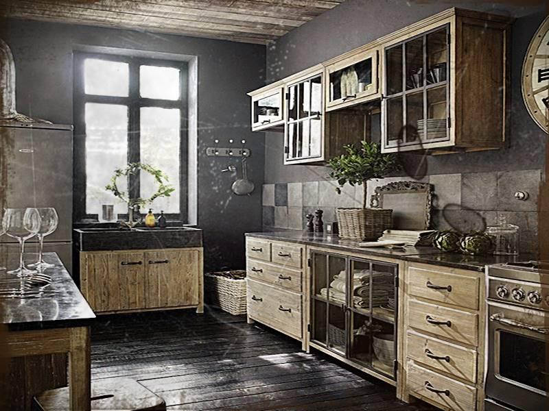 Desain Dapur Vintage