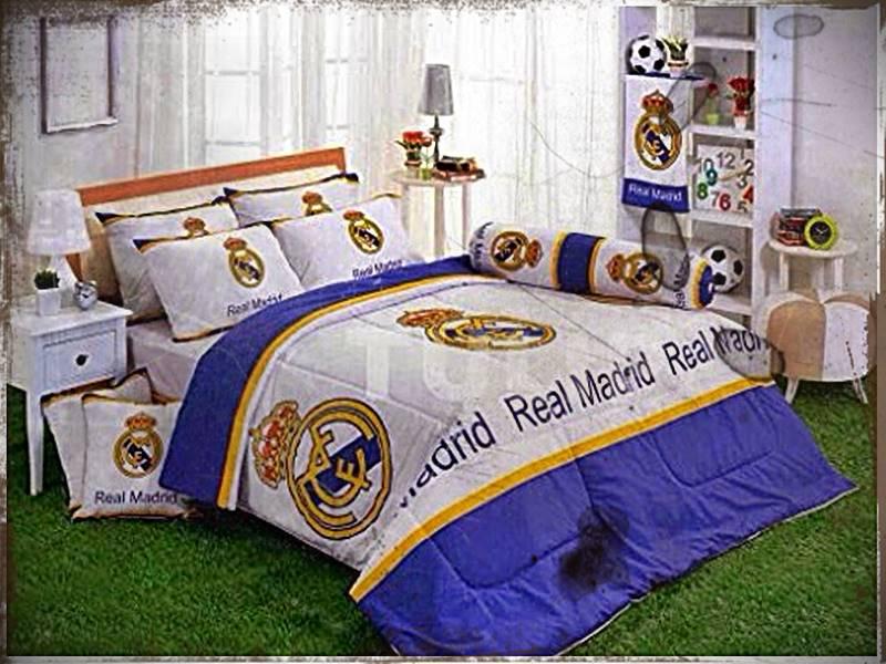 Desain Kamar Real Madrid