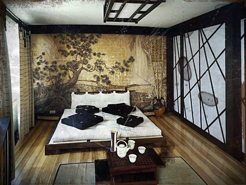 Desain Kamar Tidur Ala Jepang Sederhana