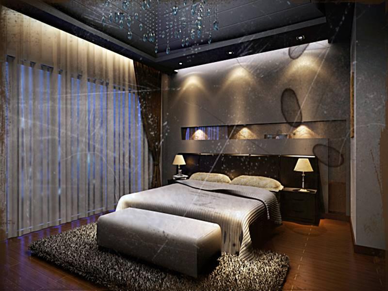 Desain Kamar Tidur Elegan Keren