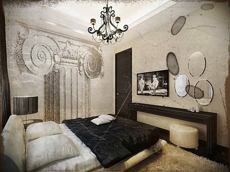 Desain Kamar Tidur Vintage Minimalis Modern