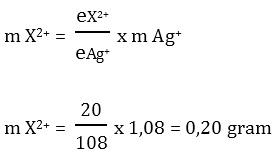 Contoh Soal Hukum Faraday II